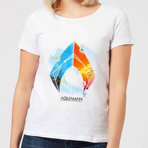Aquaman Back To The Beach Women's T-Shirt - White