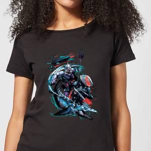 Aquaman Black Manta & Ocean Master Women's T-Shirt - Black