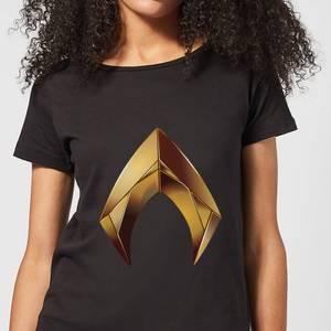 Aquaman Symbol Women's T-Shirt - Black