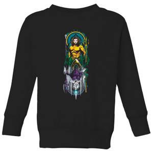Aquaman and Ocean Master Kids' Sweatshirt - Black