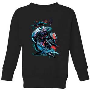 Sudadera DC Comics Aquaman Black Manta & Ocean Master - Niño - Negro