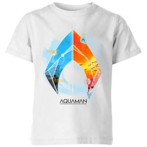 Aquaman Back To The Beach Kids' T-Shirt - White