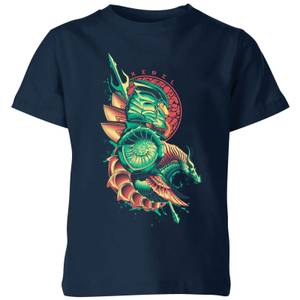 Aquaman Xebel Kinder T-Shirt - Navy Blau