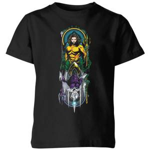 Camiseta DC Comics Aquaman and Ocean Master - Niño - Negro