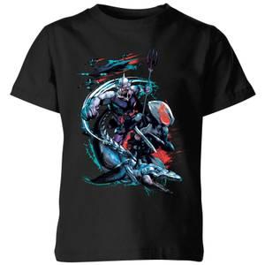 Aquaman Black Manta & Ocean Master Kids' T-Shirt - Black