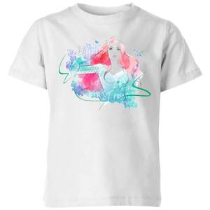 Aquaman Mera First Princess Kinder T-Shirt - Weiß