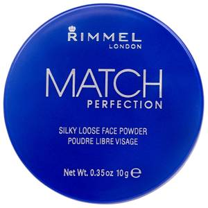Polvos sueltos Match Perfection de Rimmel - Transparente