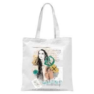 Aquaman Mera Tote Bag - White