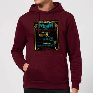 Fantastic Beasts Les Plus Grand Des Cirques Hoodie - Burgundy