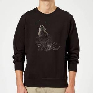 Fantastic Beasts Tribal Augurey Sweatshirt - Black