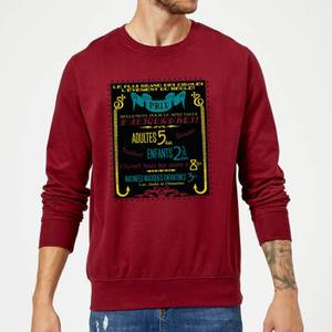 Fantastic Beasts Les Plus Grand Des Cirques Sweatshirt - Burgundy
