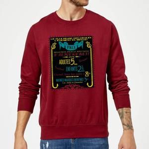 Fantastic Beasts Les Plus Grand Des Cirques Sweatshirt - Burgundy