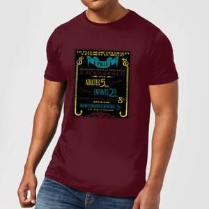 Fantastic Beasts Les Plus Grand Des Cirques Men's T-Shirt - Burgundy