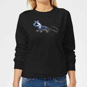 Fantastic Beasts Tribal Chupacabra Women's Sweatshirt - Black