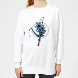 Fantastic Beasts Chupacabra Women's Sweatshirt - White