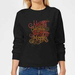 Fantastic Beasts No-Maj Women's Sweatshirt - Black