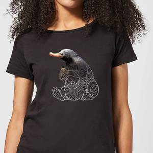 Fantastic Beasts Tribal Niffler dames t-shirt - Zwart