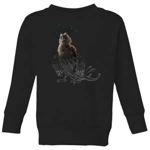 Fantastic Beasts Tribal Augurey Kids' Sweatshirt - Black