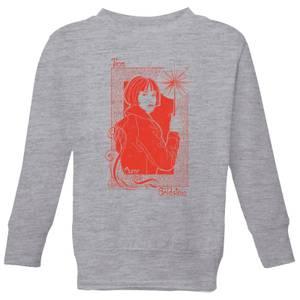 Fantastic Beasts Tina Goldstein Kids' Sweatshirt - Grey