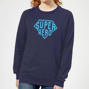 Super Hero Women's Sweatshirt - Navy