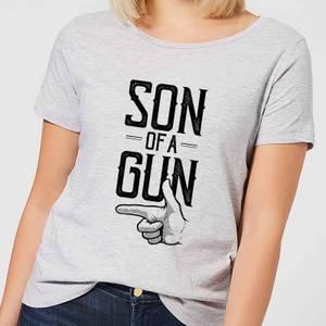 Son Of A Gun Women's T-Shirt - Grey