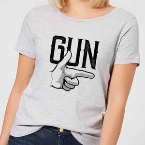 Gun Women's T-Shirt - Grey