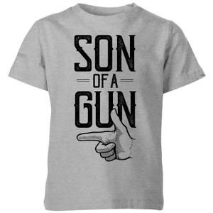 Son Of A Gun Kids' T-Shirt - Grey