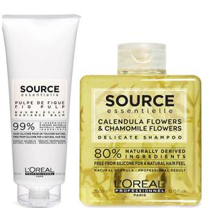 L'Oréal Professionnel Source Essentielle Sensitive Scalp Shampoo and Hair Balm Duo