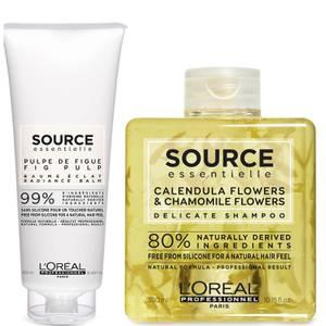 L'Oréal Professionnel Source Essentielle Sensitive Scalp Shampoo and Hair Balm Duo