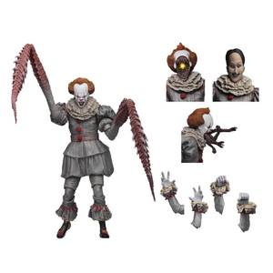 """NECA IT - 7"""" Scale Action Figure - Ultimate """"Dancing Clown"""" Pennywise"""
