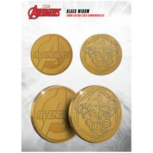 Marvel Black Widow Collectible Evergreen Commemorative Coin