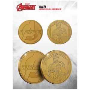Marvel Falcon Collectable Evergreen Commemorative Coin