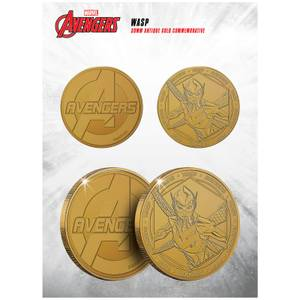 Marvel The Wasp Collectable Evergreen Commemorative Coin