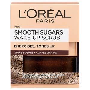 L'Oréal Paris Smooth Sugar Wake-Up Coffee Face and Lip Scrub 50ml
