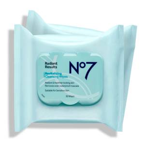 No7 RR Rev Cleansing Wipes (2 x 30 Packs)