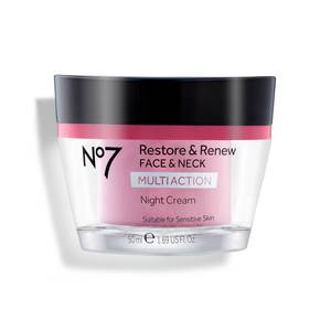 No7 Restore and Renew Multi Action Night Cream 1.69oz