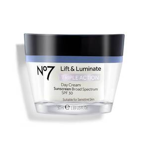 No7 Lift and Luminate Triple Action Day Cream SPF30 1.69oz
