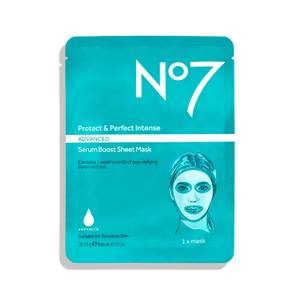 No7 Protect and Perfect Intense Advanced Sheet Mask 0.73oz