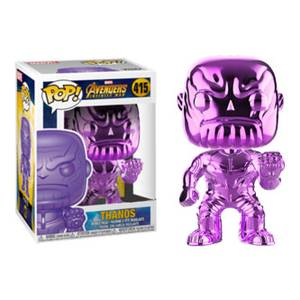 Marvel Avengers: Infinity War Thanos Purple Chrome EXC Funko Pop! Vinyl