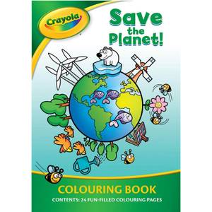 Crayola Save The Planet Colouring Book