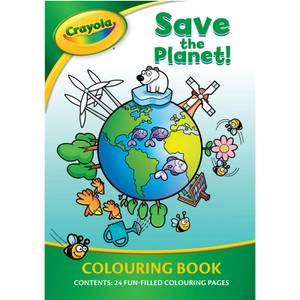 Libro para colorear Save The Planet Crayola