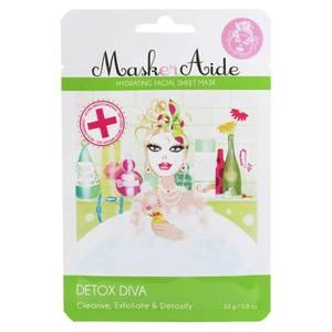 MaskerAide Detox Diva Hydrating Sheet Mask