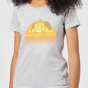 Transformers Bumblebee Women's T-Shirt - Grey