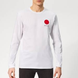 Edwin Men's Japanese Sun Long Sleeve T-Shirt - White
