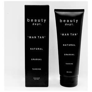 The Beauty Department Natural Gradual Tanning Lotion - Man Tan