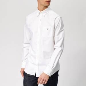 Gant Men's Regular Fit Oxford Shirt - White