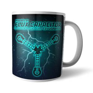Tazza Back To The Future Powered By Flux Capacitor