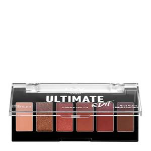 NYX Professional Makeup Ultimate Edit Petite Eye Shadow Palette - Warm Neutrals