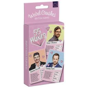 Weird Crushes British Hunks Card Game