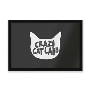 Crazy Cat Lady Entrance Mat
